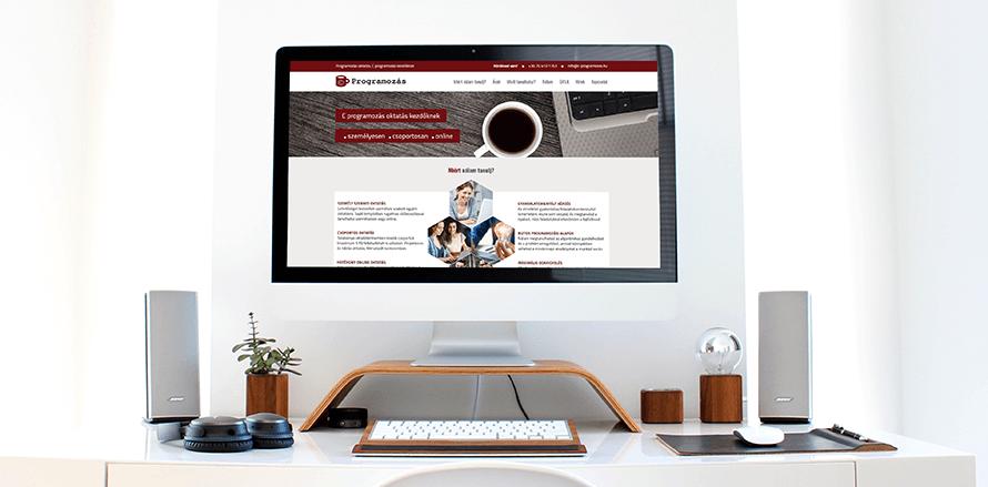 Teljes körû weboldal készítés Debrecenben