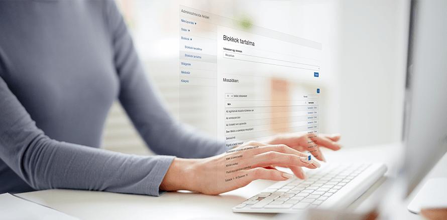 Weboldal karbantartás, üzemeltetés